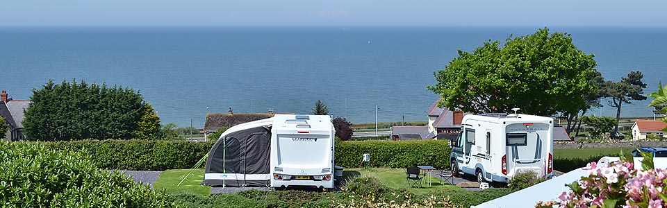 caravan park north wales sea view